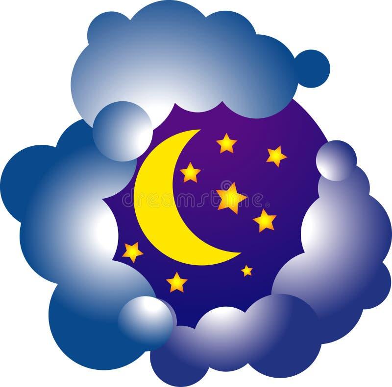 Luna de Vectoor ilustración del vector