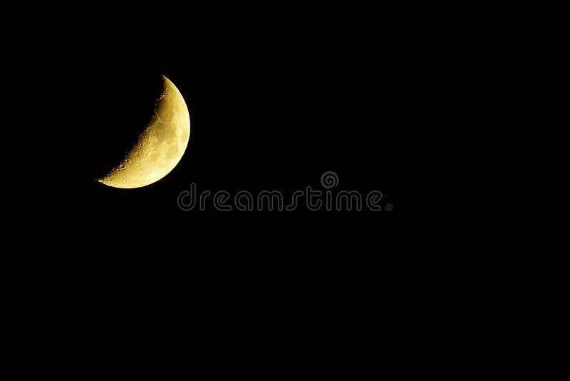 Luna del cráter foto de archivo libre de regalías