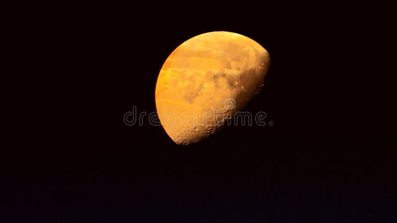 Luna del planeta foto de archivo