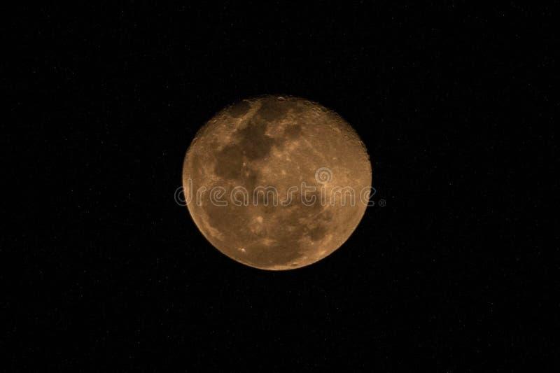 Luna del sangue fotografie stock libere da diritti