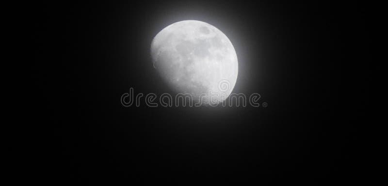 Luna di alone fotografie stock libere da diritti