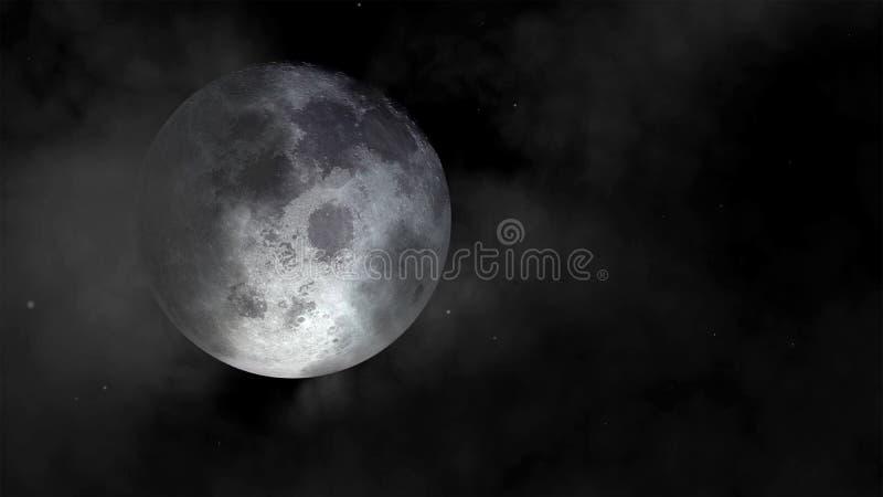 Luna eccellente fotografia stock