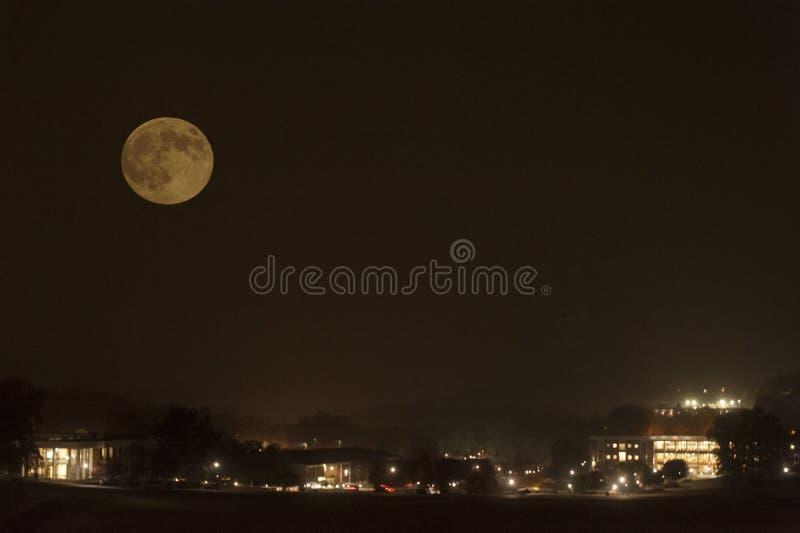 Luna eccellente 2016 fotografie stock
