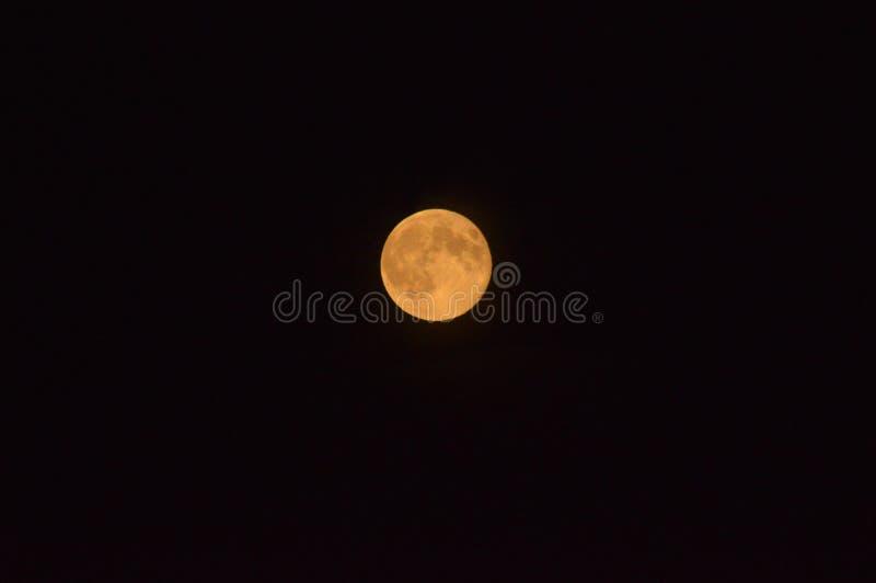 Luna eccellente luminosa immagine stock