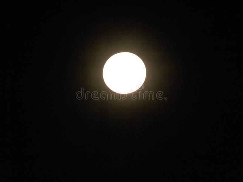 Luna en la noche fotos de archivo