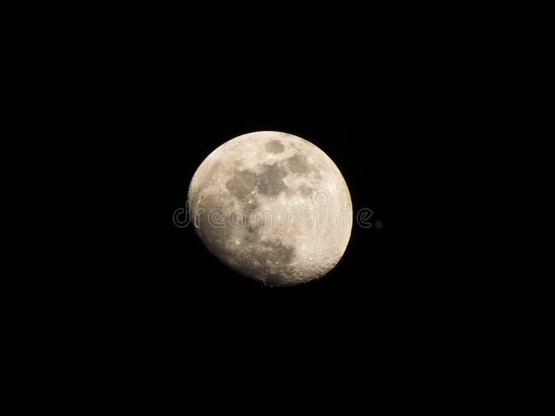 Luna en la oscuridad fotografía de archivo libre de regalías