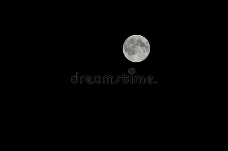 Luna estupenda imagen de archivo