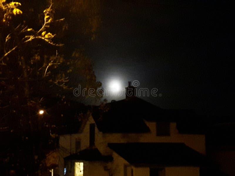 Luna estupenda imagenes de archivo