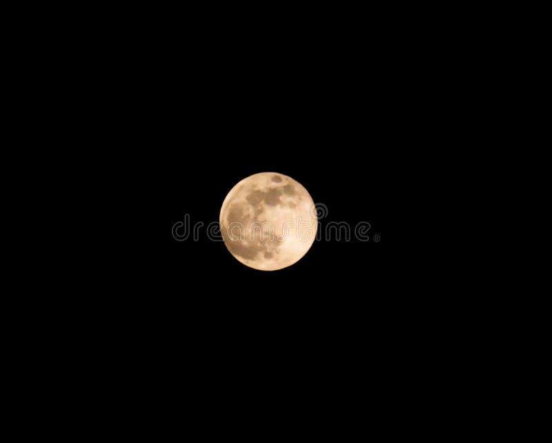 Luna estupenda fotografía de archivo