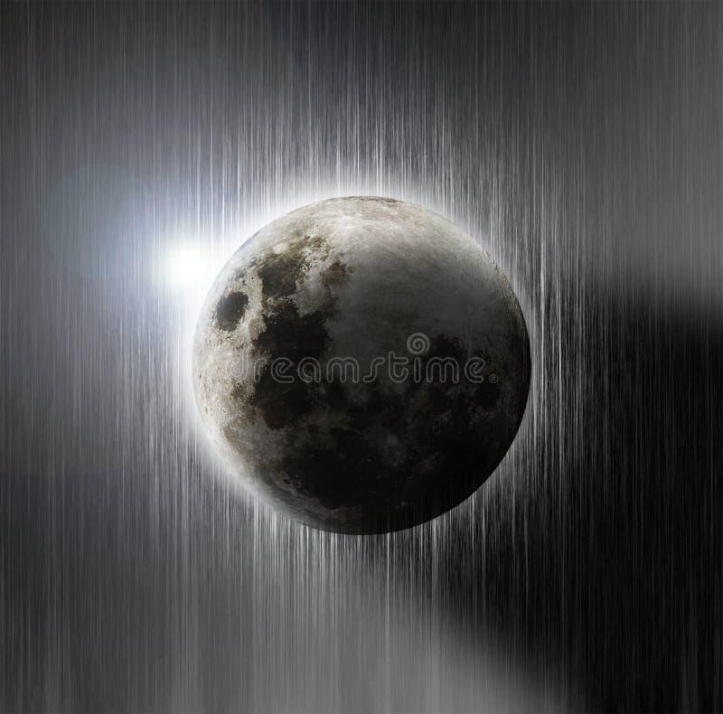 Luna hermosa imagen de archivo libre de regalías