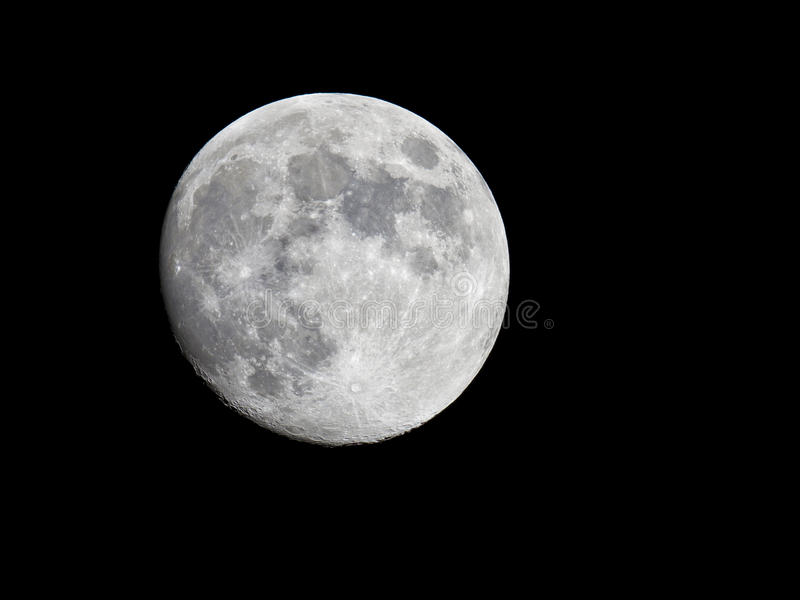 Luna Llena foto de archivo libre de regalías