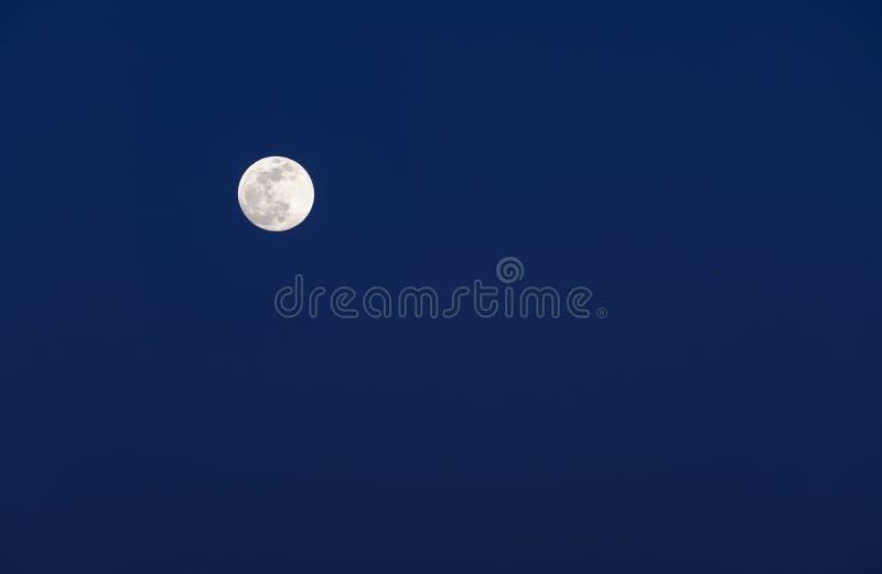 Luna Llena en la oscuridad #1 fotos de archivo libres de regalías