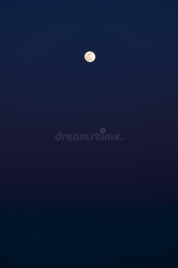 Luna Llena en la oscuridad #2 fotos de archivo libres de regalías