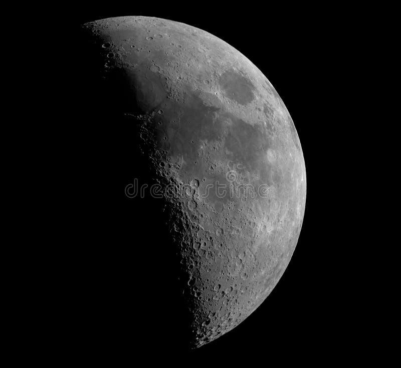Luna a mezzaluna immagini stock libere da diritti