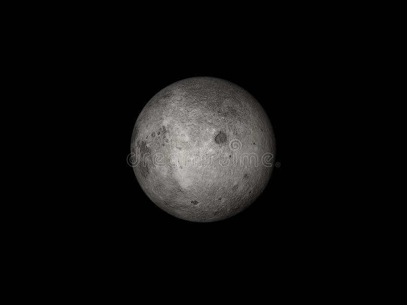 Luna nello spazio illustrazione vettoriale