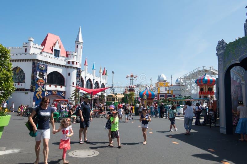 Luna Park, Мельбурн стоковое изображение