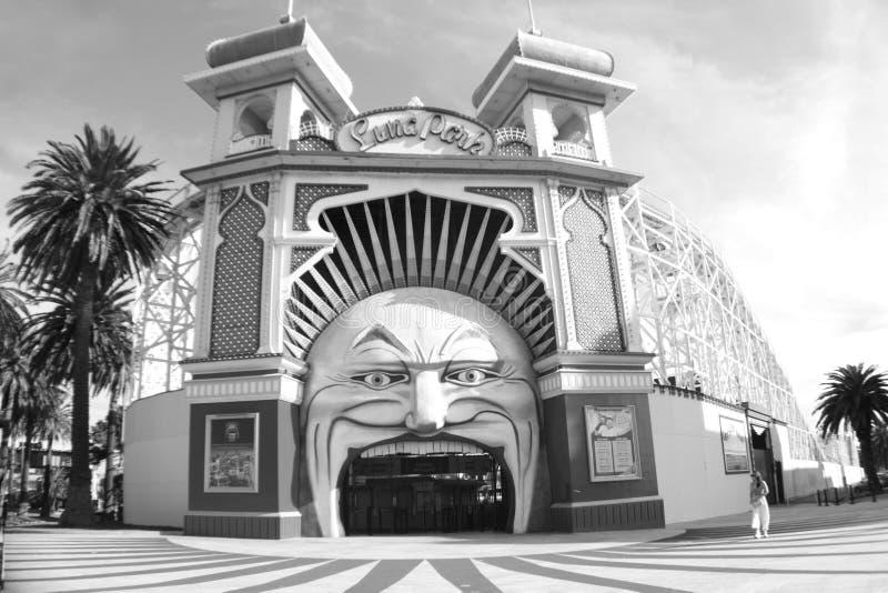 Luna Park royaltyfri fotografi