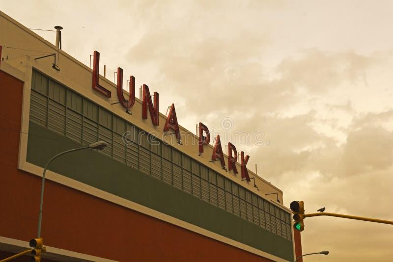 Luna Park стоковое изображение rf