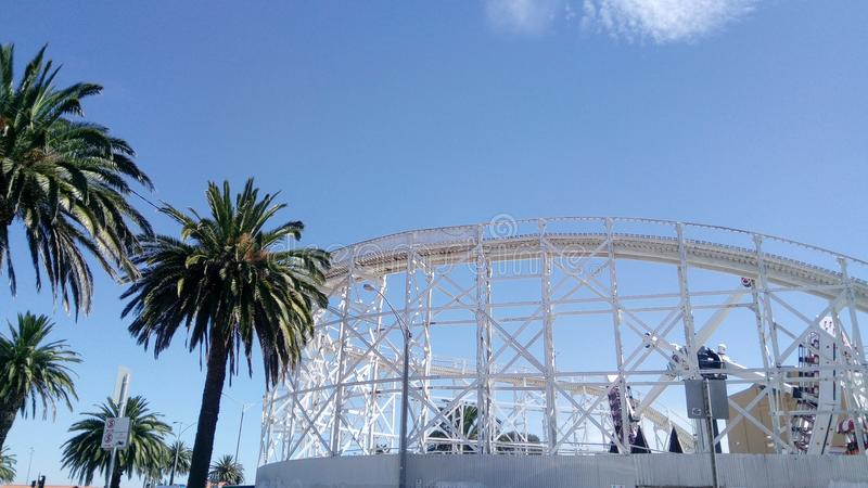 Luna Park imagen de archivo