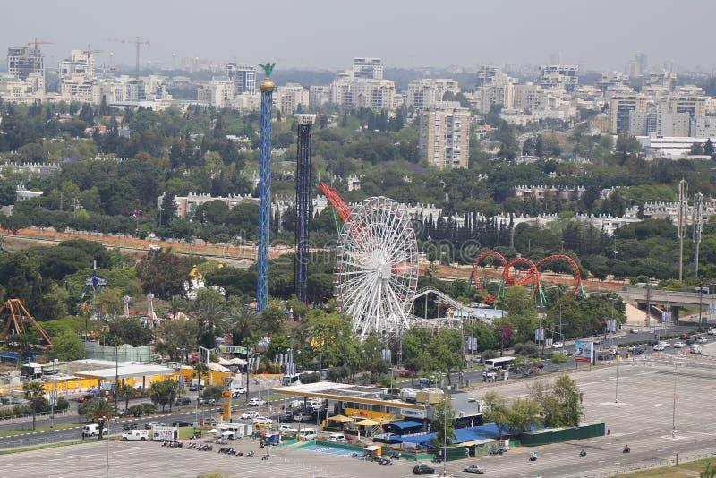 Luna Park em Tel Aviv fotos de stock