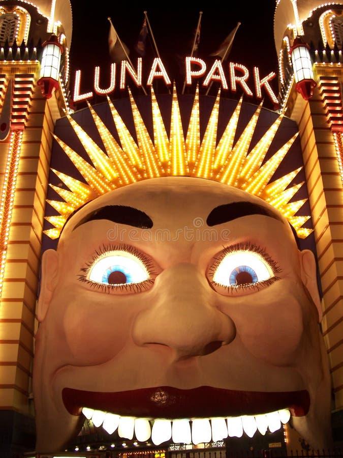 Luna Park Entrance foto de archivo libre de regalías