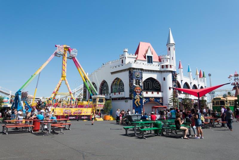 Luna Park, Melbourne royalty free stock photography