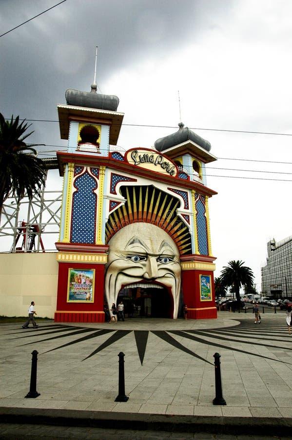 Luna Park Mouth royaltyfri bild
