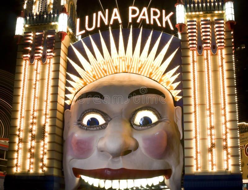 Luna Park, Sydney, Austrália foto de stock royalty free