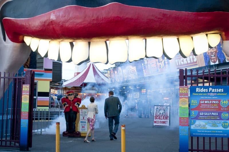 Luna Park, Sydney, Australië royalty-vrije stock foto's