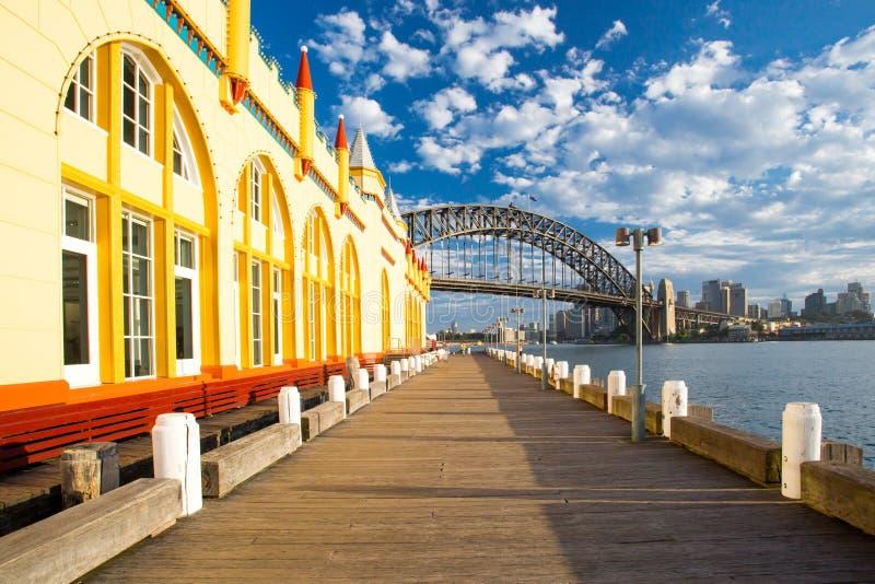 Luna Park in Sydney stock photos