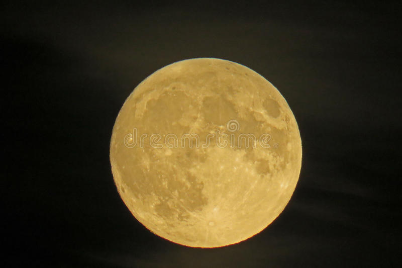 Luna piena 3 immagini stock
