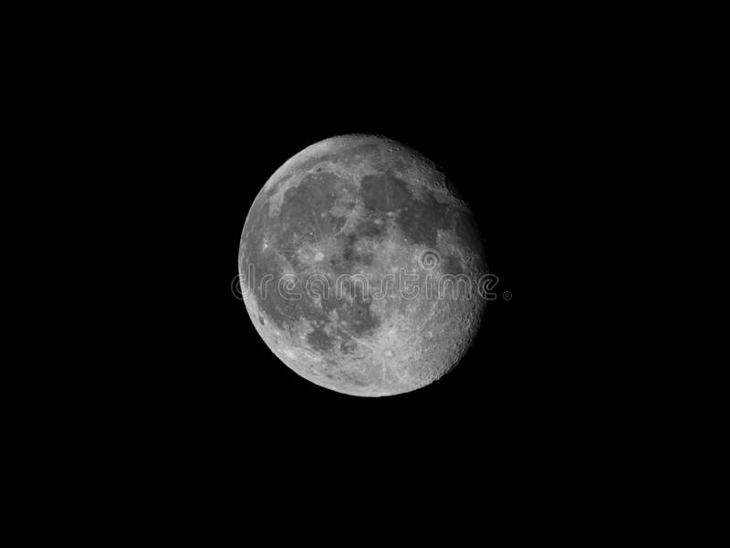 Full Moon in Verona Italy stock image