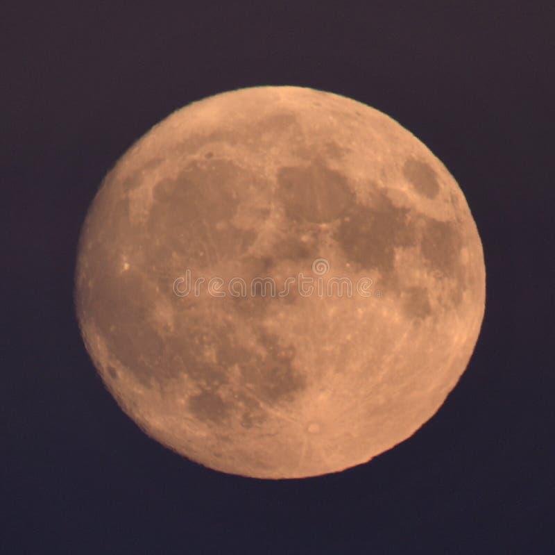 98 Luna que encera del 7% fotos de archivo