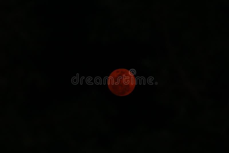 Luna roja fotos de archivo