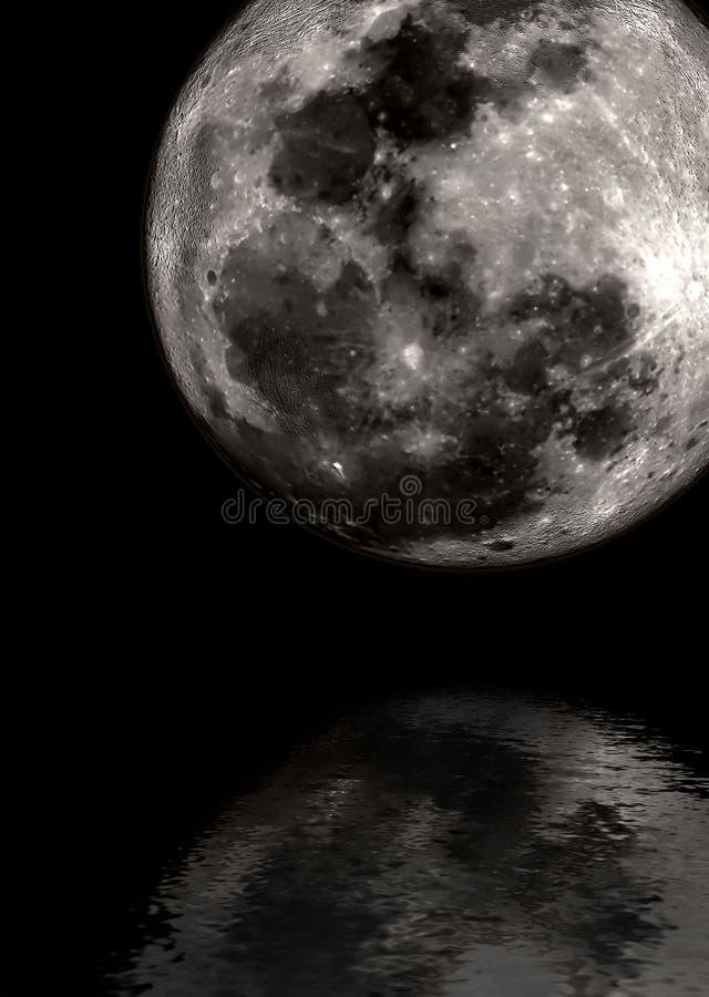 Lunar fotografia de stock