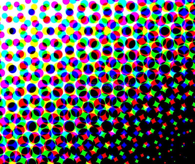 Lunar abstracto del color fotografía de archivo libre de regalías