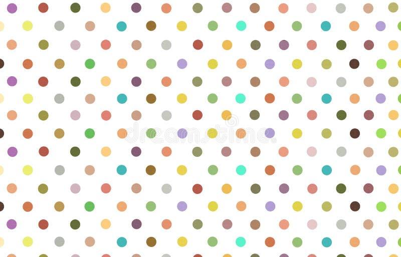 Lunar con el fondo del pastel del color de la variedad ilustración del vector