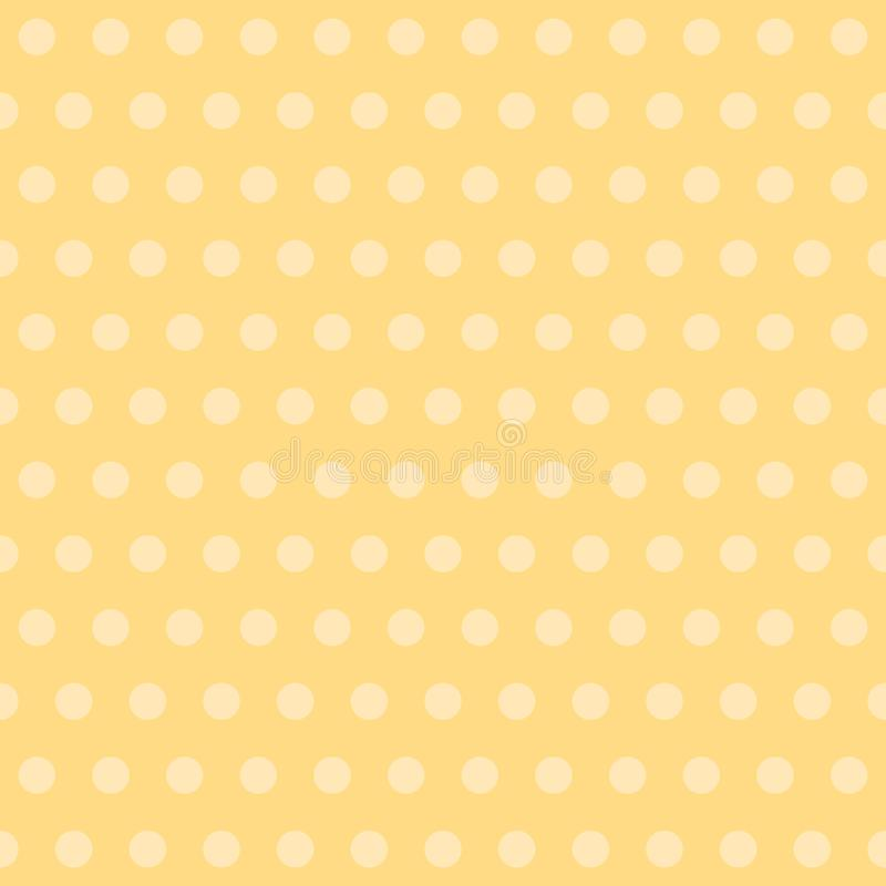 Lunar Fondo amarillo del beb? Vector el modelo incons?til fondo repetidor simple clásico pintura de la materia textil Muestra de  libre illustration