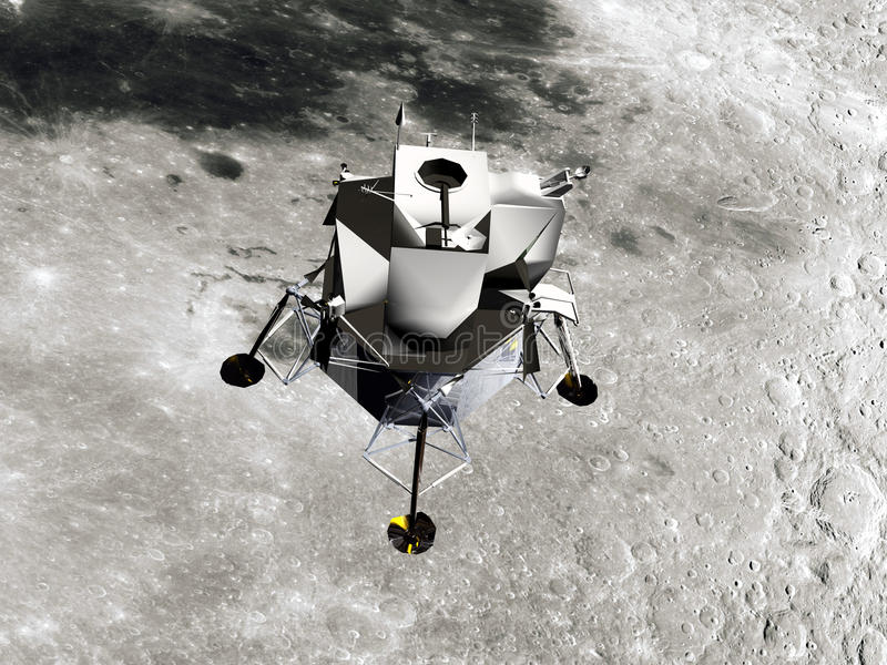 Lunar Module Royalty Free Stock Images