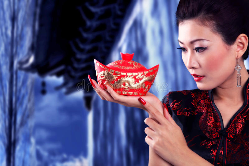 lunar new year stock image