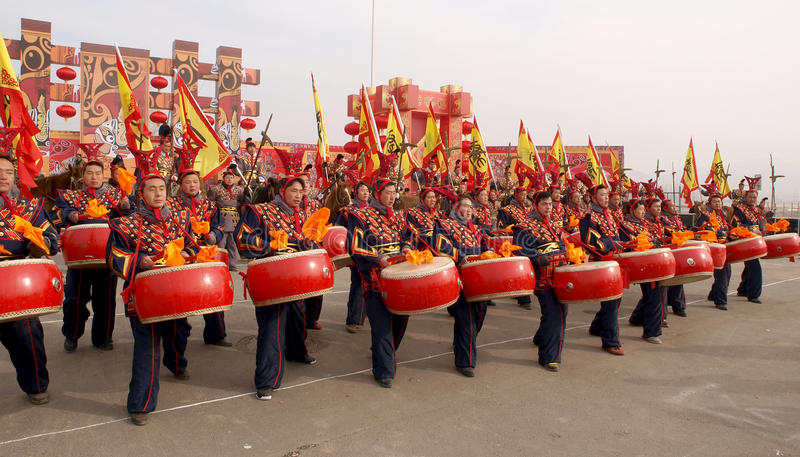 Download The Lunar New Year Celebration In 2013 Editorial Stock Image - Image of religion, demonstration: 29473474