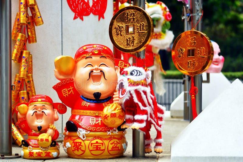lunar nytt år för garneringar royaltyfri fotografi