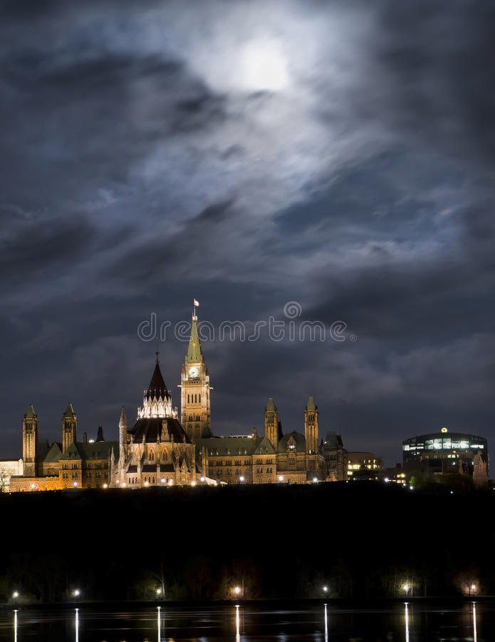 Lunar politik royaltyfria bilder