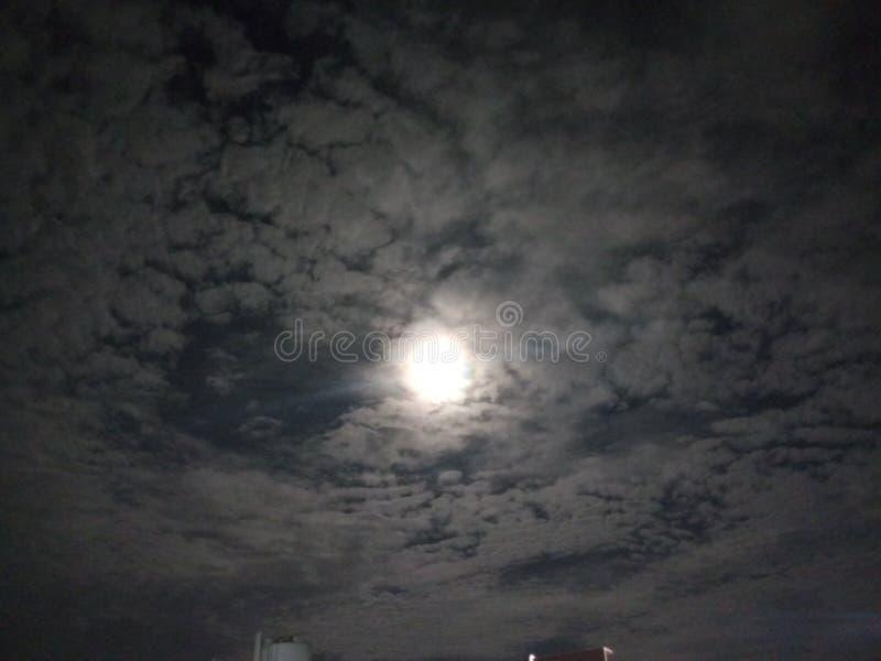Lunareclipse стоковая фотография