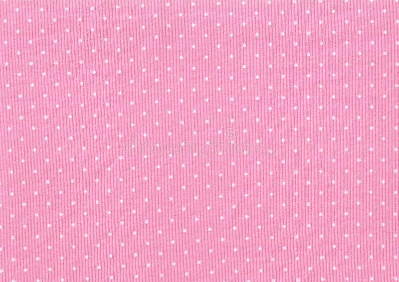 Lunares de la textura de los géneros de punto foto de archivo