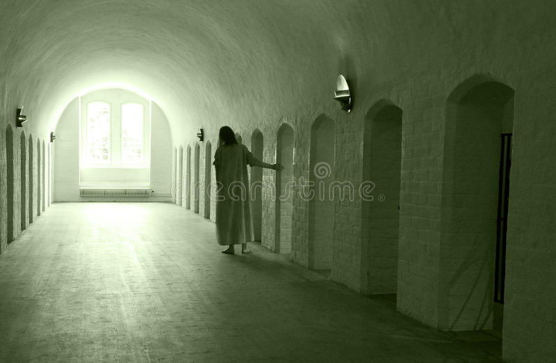 Lunatic asylum royalty free stock photos