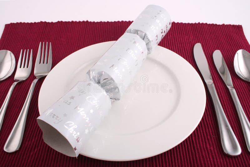 Lunch 2 van Kerstmis royalty-vrije stock foto