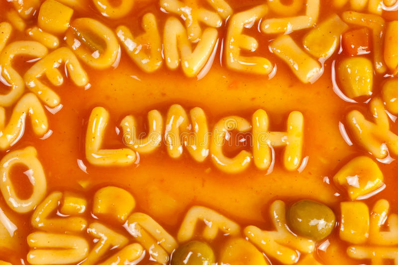 Download Lunch stock photo. Image of dinner, literacy, text, symbol - 22597122