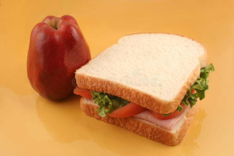 lunch arkivfoton