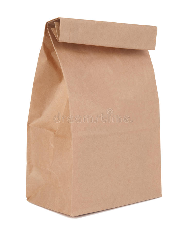 Free Lunch Bag Royalty Free Stock Photography - 15869217
